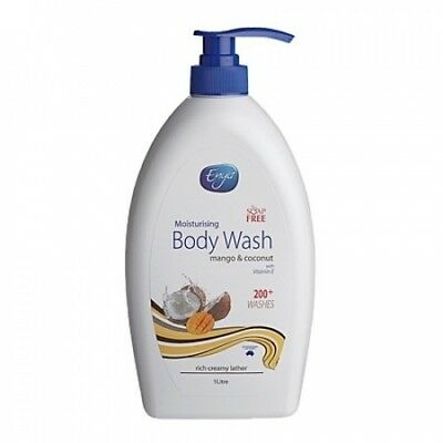 Enya Body Wash Mango & Coconut 1L. NZ Beauty. Shipping Included
