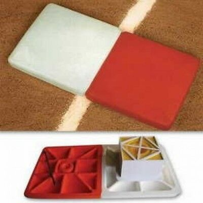 Soft Touch Base 1236293 SoftTouch Double First Base Baseball-Softball Bases