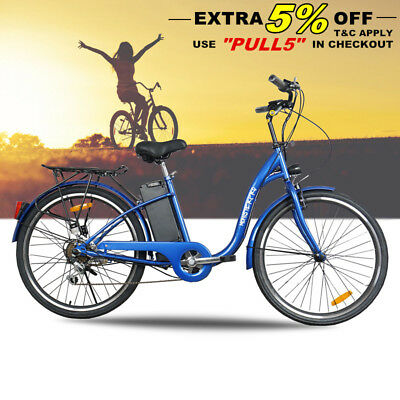 250W Electric Bike 36V Ebike Scooter City Bicycle Lithium Battery W' Lcd Display