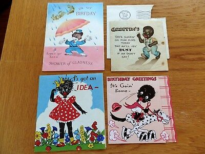 Black African American Greeting Card lot-Birthday- 1Hallmark....Lot 2B