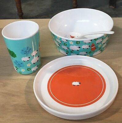 Childs dinnerware set by Atomic Soda (France)