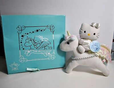 SANRIO Hello Kitty Unicorn Plush Doll 25th Anniversary JAPAN ONLY RARE 1999'