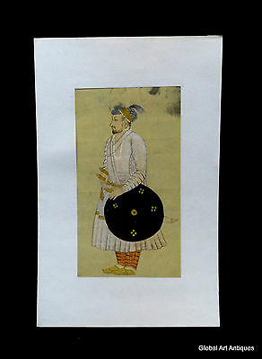 Rare Hand Painted Fine Decorative Collectible Indian Miniature Painting. G77-16