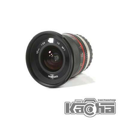 SALE Samyang 12mm f/2.0 NCS CS Lens for Micro Four Thirds