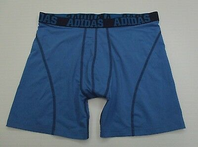 ADIDAS #SH5240 Men's Size XL Athletic CLIMALITE FITNESS Blue Compression Shorts