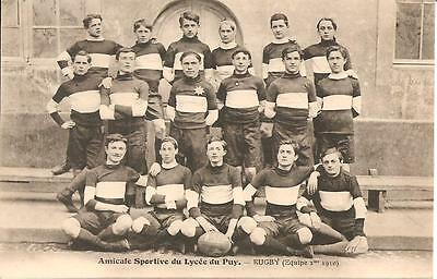 (43) - Le Puy,  Rugby (Equipe 1910) - Amicale Sportive Du Lycee