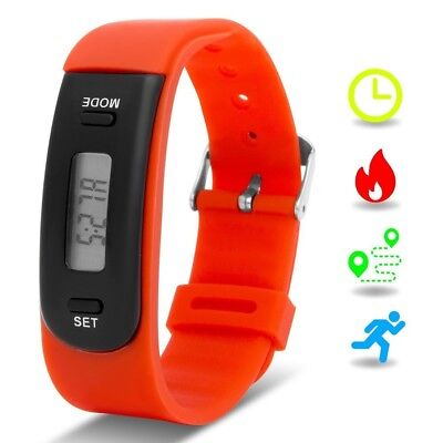(Red) - Kids Fitness Tracker with Pedometer, Willful Fitness Activity Tracker