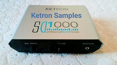 Ketron Sd1000 - Soundfont/sf2+Audio Samples/ 9.84Gb-Over 500 Istruments