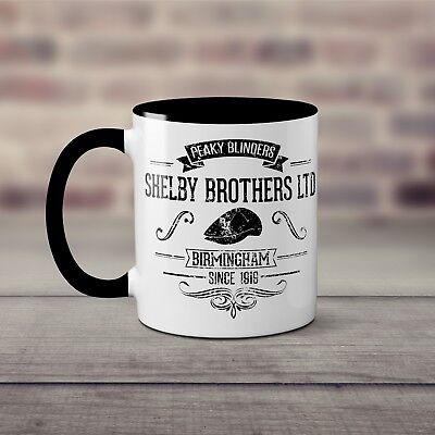 Peaky Tommy Brothers Blinders Coffee Inspired Cup Bbc Mug Shelby mO0wvN8n