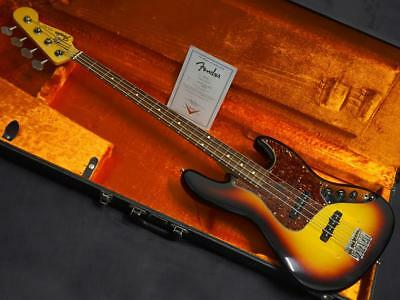 Fender Custom Shop 1964 Jazz Bass NOS 3TS Used  FREE Shipping