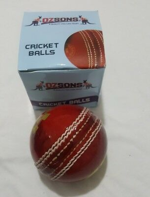 1x156g Leather Turf 4piece Cricket Wonder Ball by OZSONS