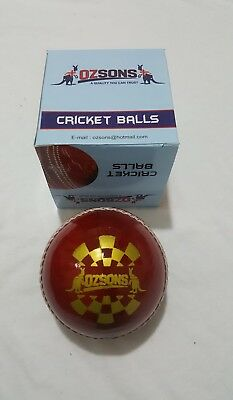 Leather 4piece Super test Cricket Wonder Ball by OZSONS 1x156g