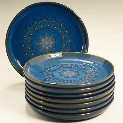"""Denby Midnight 8 Eight  6.5"""" (16.7 cm)  Tea / Side Plates Firsts"""