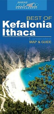 Kefalonia - Ithaca Best Of Road Ed. Wp (Map) NEW FREE PP Worldwide Shipping
