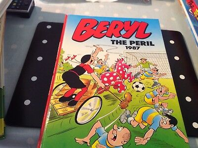 Beryl The Peril Annual 1987 in excellent condition