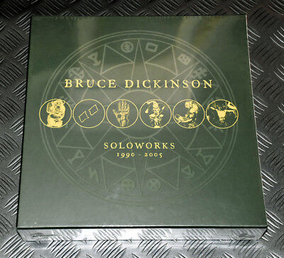 Bruce Dickinson 'Soloworks 1990-2005' 9LP Box Set New/Sealed BMGCAT102BOX Maiden