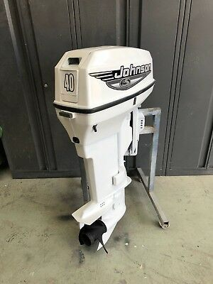 40hp Johnson / Evinrude Outboard Motor Can Freight Australia Wide