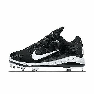 (12 B(M) US, Black/White) - Nike Women's HyperDiamond Pro Metal Softball Cleats