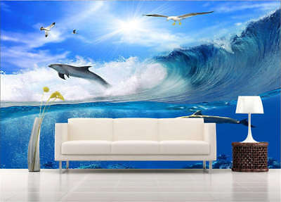 Obscure Cold Doves 3D Full Wall Mural Photo Wallpaper Printing Home Kids Decor