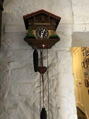 antique cuckoo clock