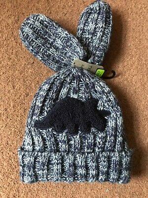 Next Boys Hat And Mitten Set Brand New With Tags Age 1-2 Years