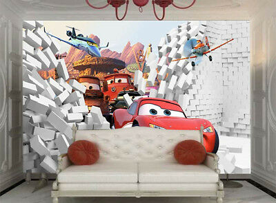 Ripe Absurd Toy Car 3D Full Wall Mural Photo Wallpaper Printing Home Kids Decor