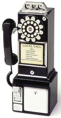 Classic 1950s Retro Diner Payphone Telephone by Wild & Wolf