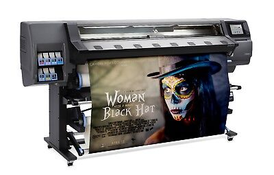 """Hp 310 54"""" Latex Printer Wide Format Printer With Supplies - B4H69A"""