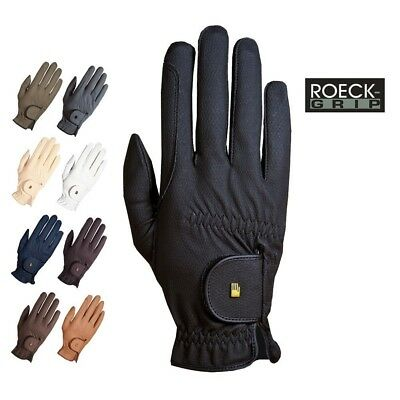 (6.5, Khaki) - Roeckl - riding gloves ROECK GRIP. Brand New