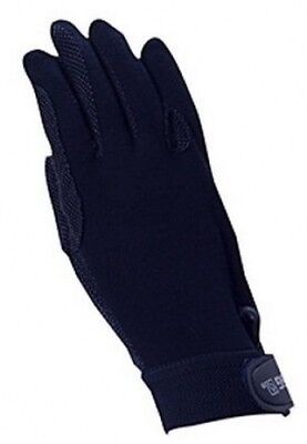 (7, Navy) - SSG Gripper Riding Gloves Navy 7/M. Delivery is Free