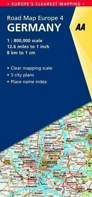 4. Germany: AA Road Map Europe by AA Publishing