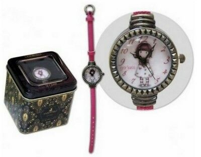 SANTORO LONDON GORJUSS orologio da polso bambina con scatola in latta