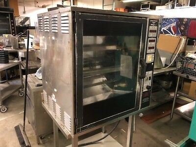 Henny Penny SCR-6 Countertop Chicken Rotisserie Commercial 208 Volt 3 Phase