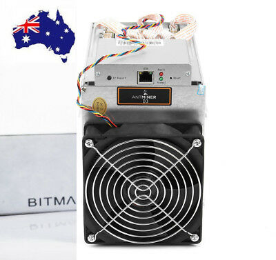 Bitmain Antminer D3 Miner With APW3+ + Power Supply, (Brand NEW) Aus