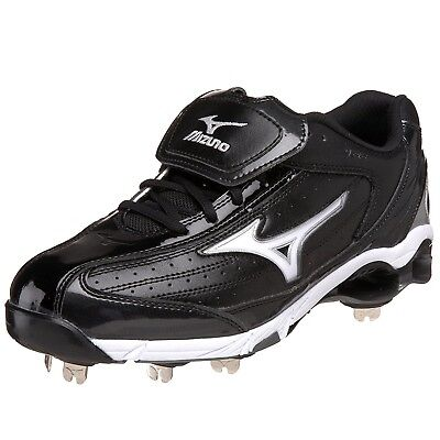 (12 D(M) US, Black/White) - Mizuno Men's 9-Spike Classic Switch Baseball Cleat