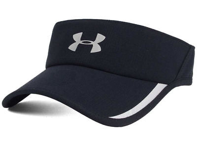 168f7d29ad7 UNDER ARMOUR Shadow ArmourVent Visor Adult One Size Black Hat Cap Run Golf