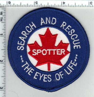 Civil Air Search & Rescue Association (Canada) Spotter Shoulder Patch - new