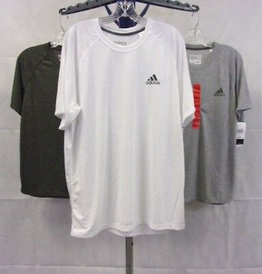 NWT Men's adidas Climalite Ultimate Tee / T Shirt - 100% Polyester
