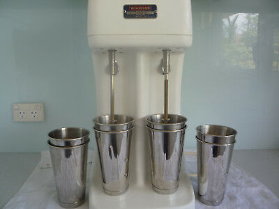 woodson milkshake mixer double spindle.vintage model.