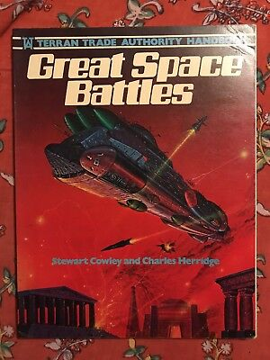 Great Space Battles Stewart Cowley Softcover
