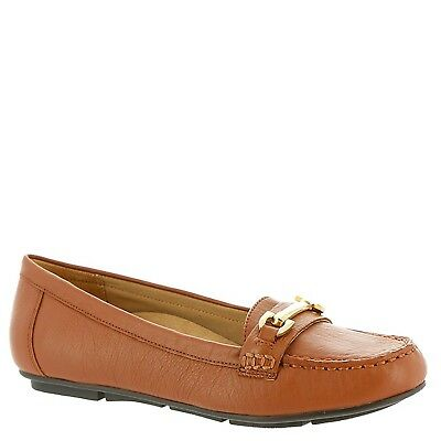 (5 B(M) US, Tan) - Vionic with Orthaheel Technology Women's Kenya Loafer