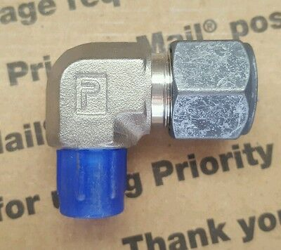 Parker CPI New Stainless Steel Male Elbow Connector 1/2 in X 1/4 MNPT 8-4 CBZ-SS
