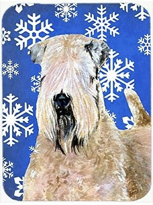 (Winter Snowflakes) - Caroline's Treasures Wheaten Terrier Soft Coated Winter