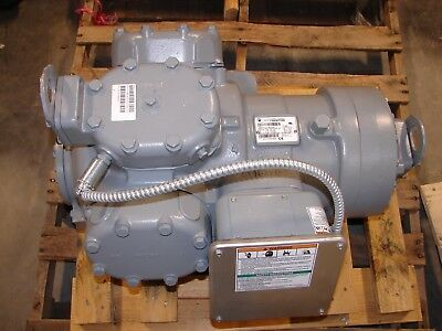 NEW Carlyle Carrier 06EA Chiller Compressor 06EA275300  30 HP, 208-230/460V, 3PH