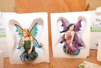 Mini's Les Alpes Fairy Fairies Mermaid Lotto Nuovo Regalo Set Fantasy Fata Pixie