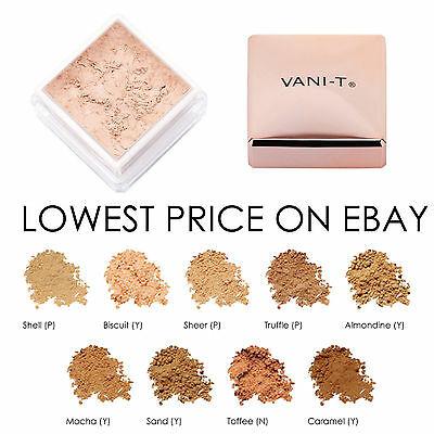Vani-T Mineral Powder Foundation - All Shades Free AU POST