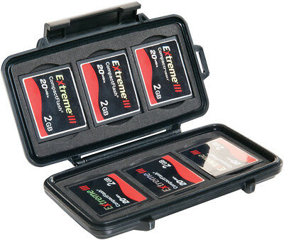 Pelican Products 0945 Compact Flash (Cf) Memory Micro Card Case - Brand New