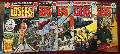 Our Fighting Forces Lot 5 Issues #142-148 DC Bronze Age War Comics