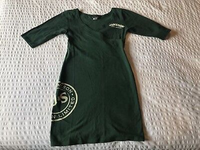 Jameson Whiskey Dress - green - size medium (gently used, fits like S/XS)