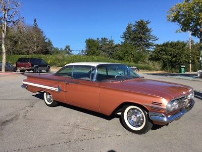 1960 Chevrolet Impala 2 owner CA car, rust free #s matching 348 Vintage a/c 1960 Chevy Impala
